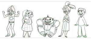 Wonka Lineup by MinorDiscrepancy