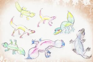 Lizards by MinorDiscrepancy