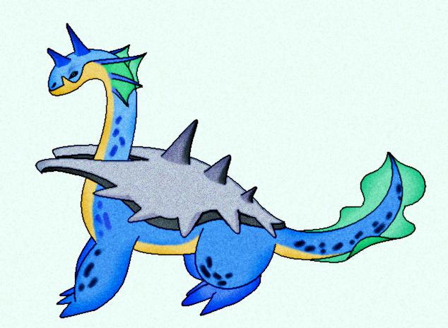 fakemon 6 - Locheras by sharkjaw