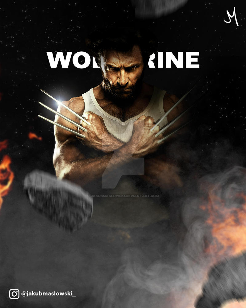 Wolverine by jakubmaslowski