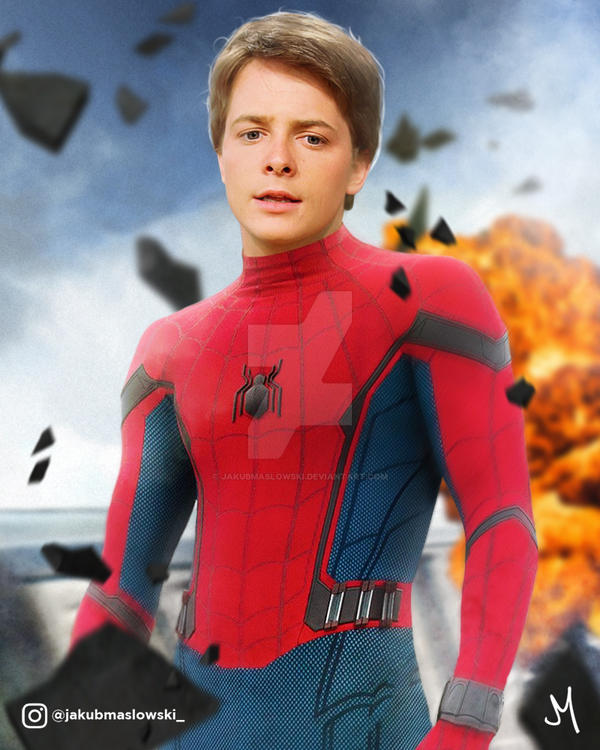 Michael J. Fox | Spider-Man by jakubmaslowski