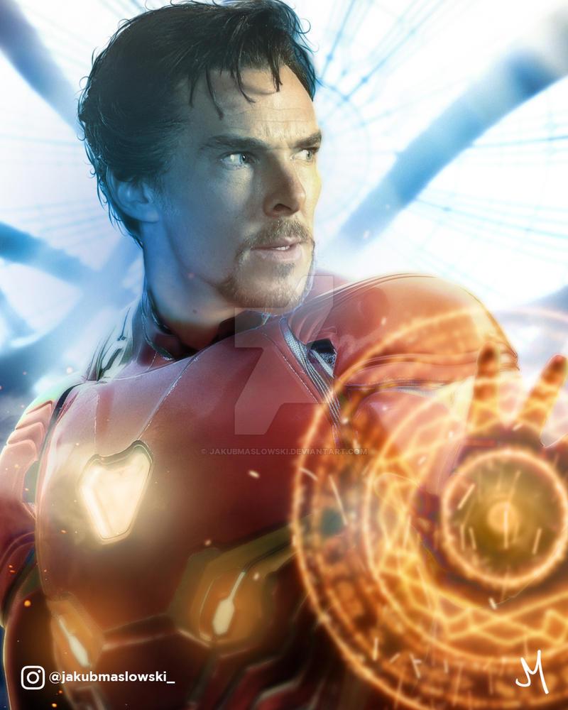 Dr Iron Strange by jakubmaslowski