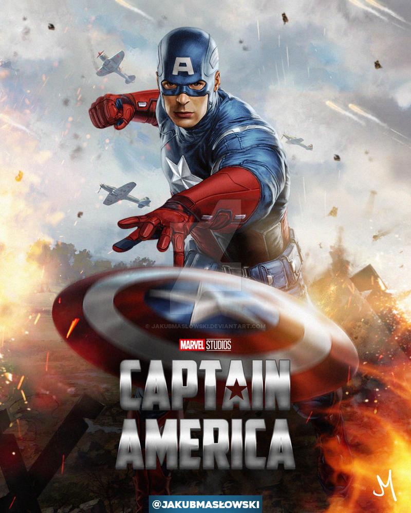 Captain America by jakubmaslowski