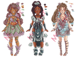 Fantasy Adopts: Open: 3/3 (Reduced) by MrGlitter
