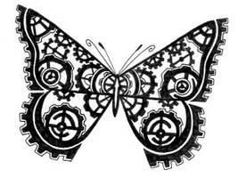 Butterfly gears by crazyeyedbuffalo
