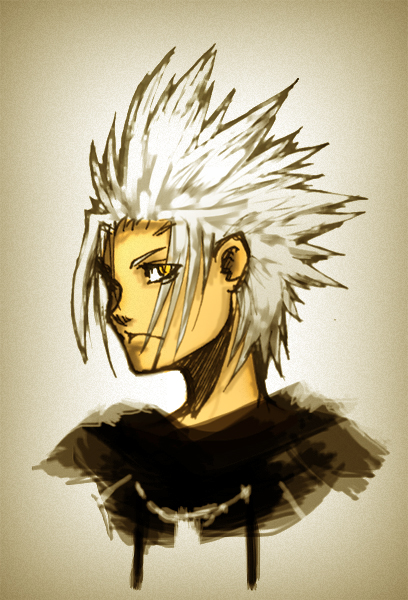 Young Xehanort Portrait  Dream Drop Distance  by H3artL3SS-KunXehanort Dream Drop Distance