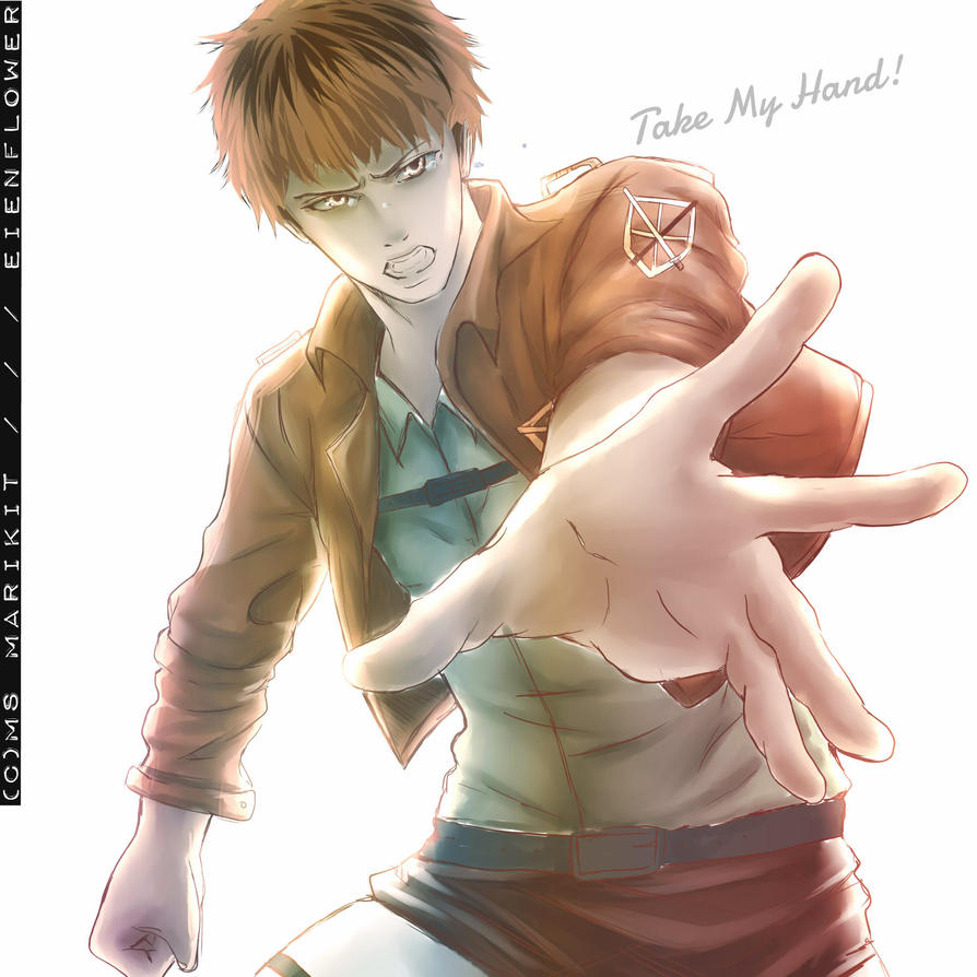 Take my Hand, Marco! by EienSketcher