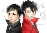 Kuroo and Daichi (Haikyuu!!)