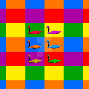 Warhol Swans