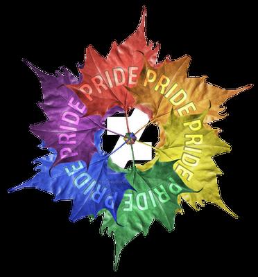 Leaf Pride Pinwheel