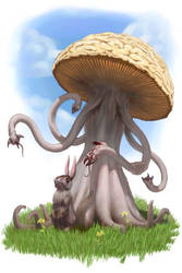 Don't lick the 'shroom