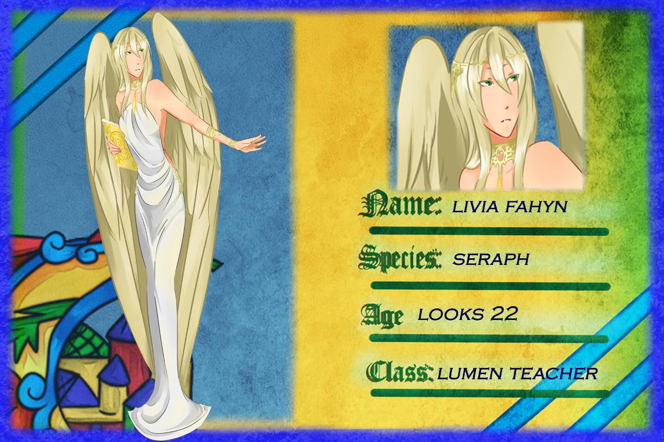 La Teacher App: Livia Fahyln by iliketodrawshit