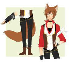 [CLOSED] Random Adopt 1: Cat Thief by teakaorii