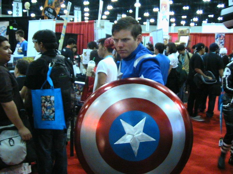 Captian America Anime Expo,12 by slasherman
