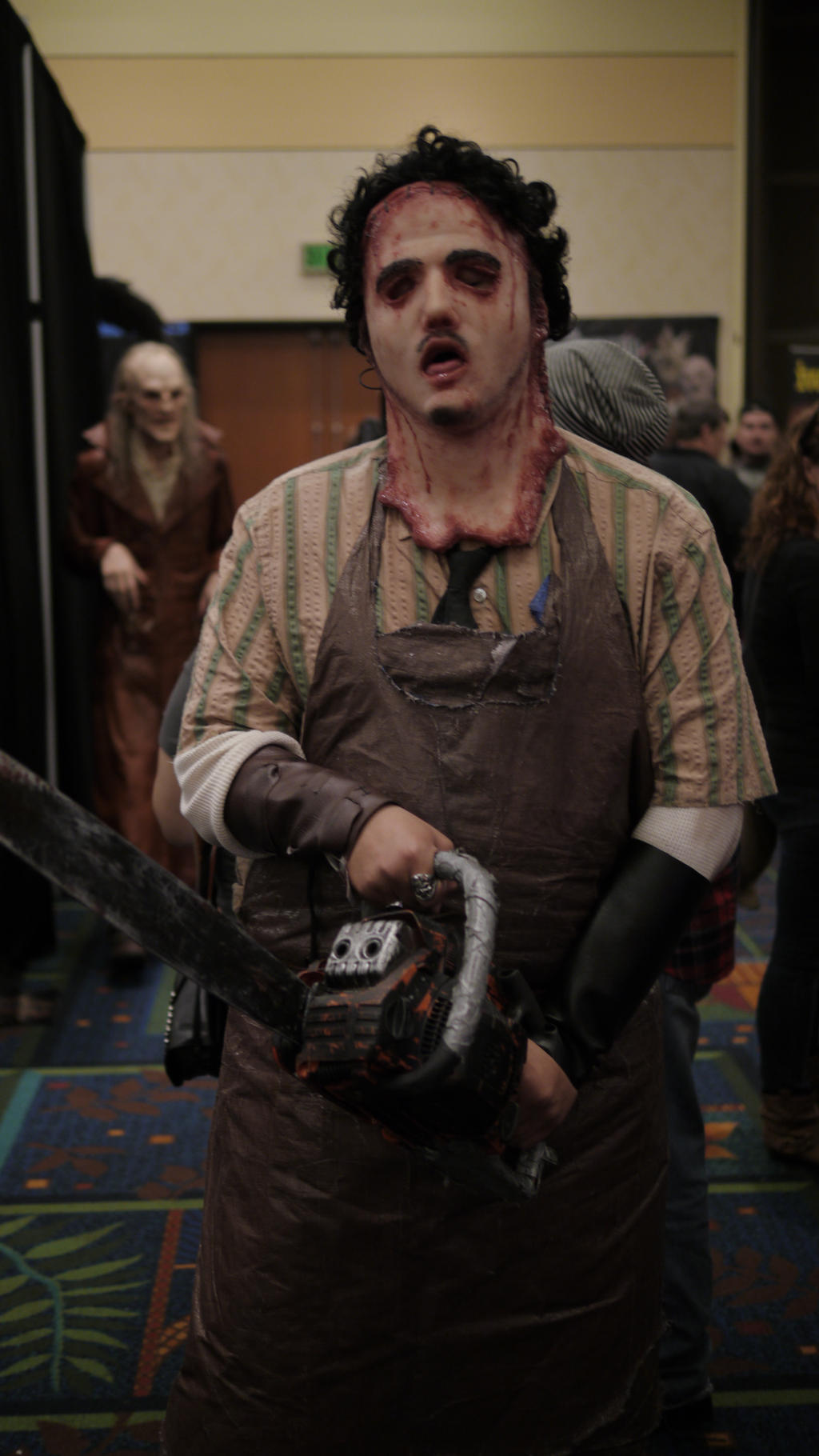 The gallery for --> Leatherface Unmasked