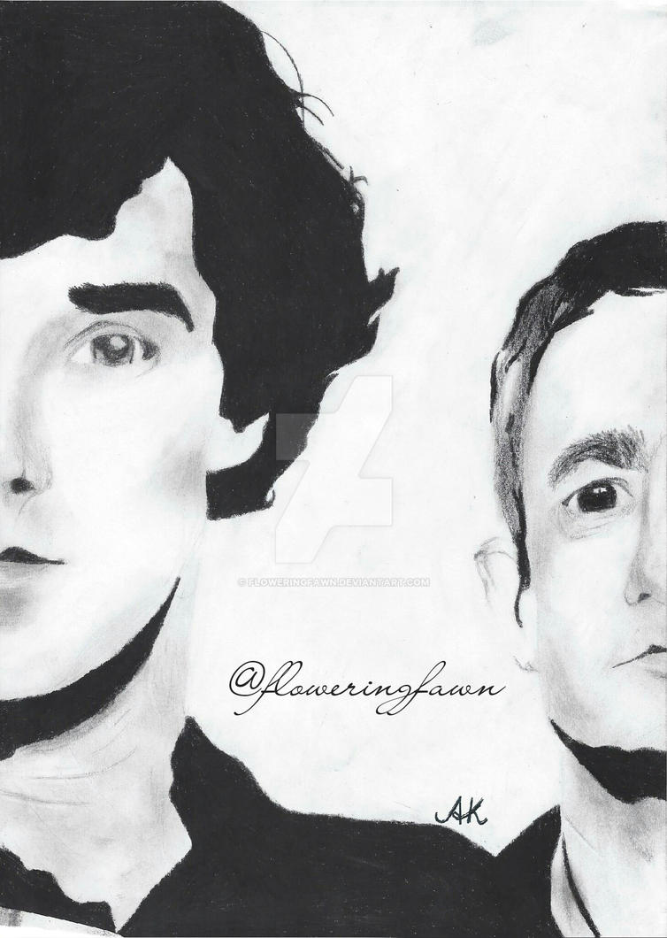 Johnlock by floweringfawn