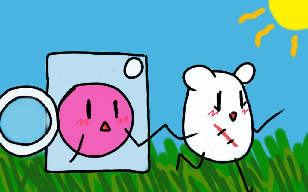 Random cute little bunglexcatastrophe drawing by mewtres for Random cute drawings