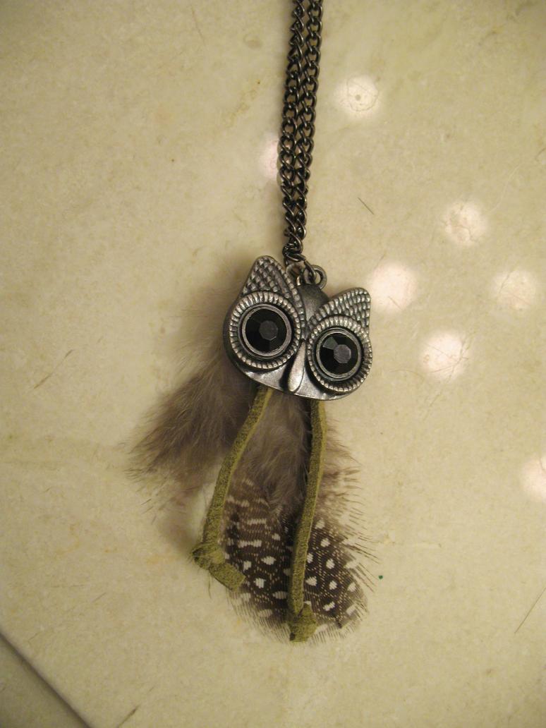 Tribal Owl by EvenDeathLies