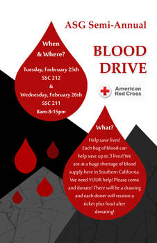 ASG Spring Blood Drive 2014