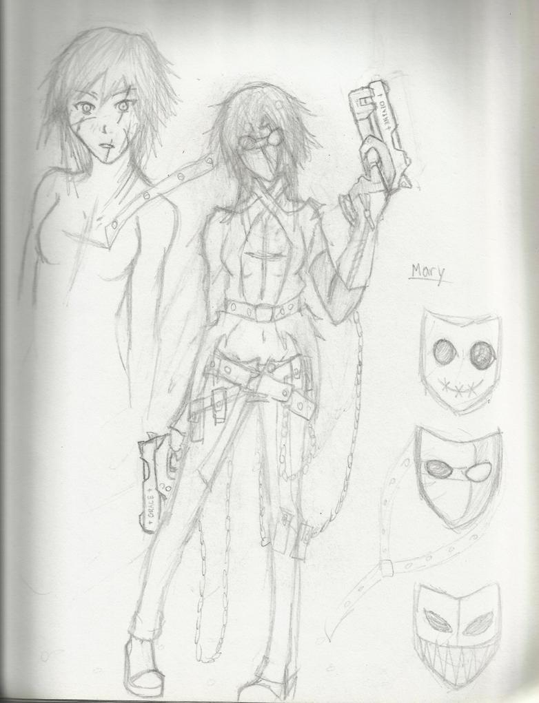 Valkyries: Mary by Demon-Shinob1