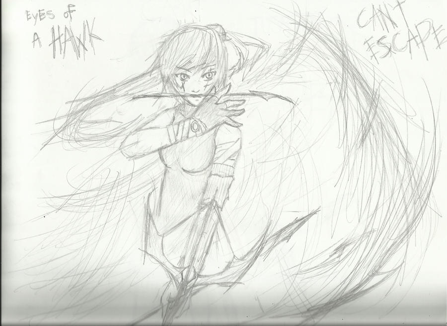 Eyes of a Hawk by Demon-Shinob1