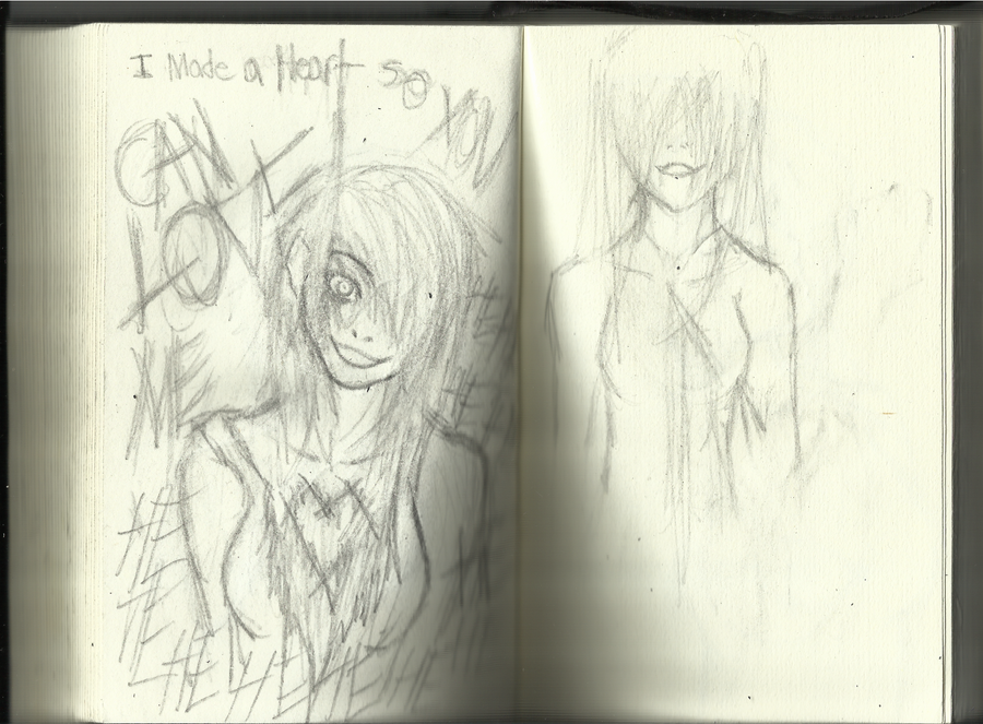 Small Sketch Book drawings by Demon-Shinob1