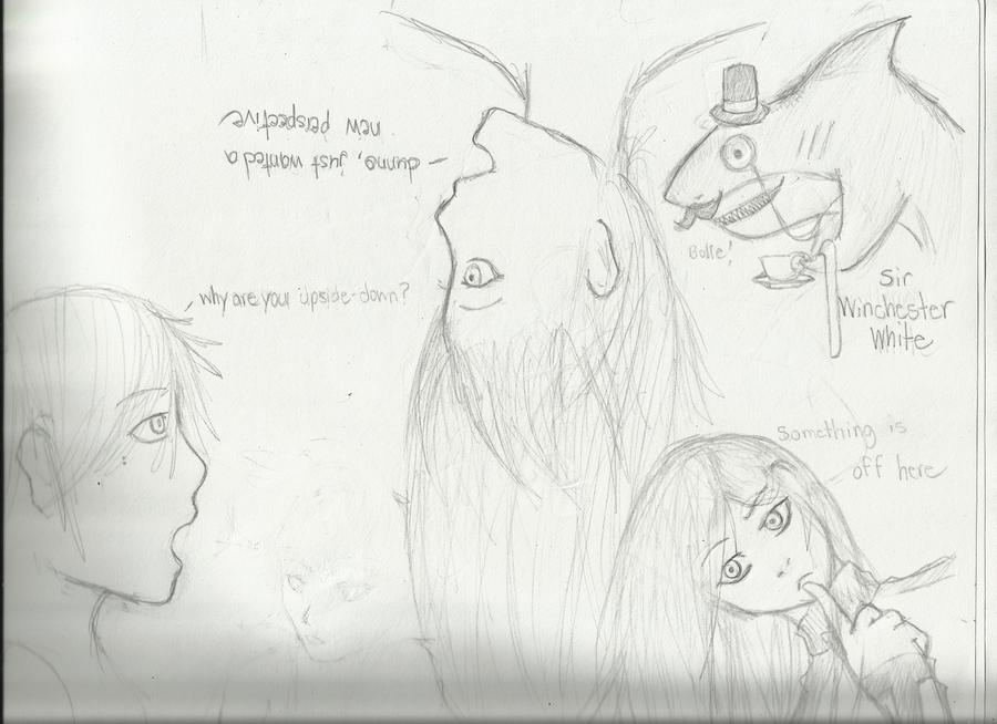 Random Drawings yeah! by Demon-Shinob1