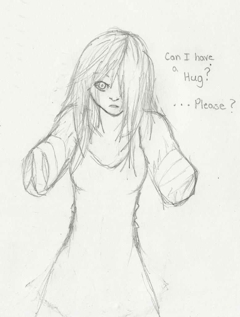 Can you give me a Hug? by Demon-Shinob1