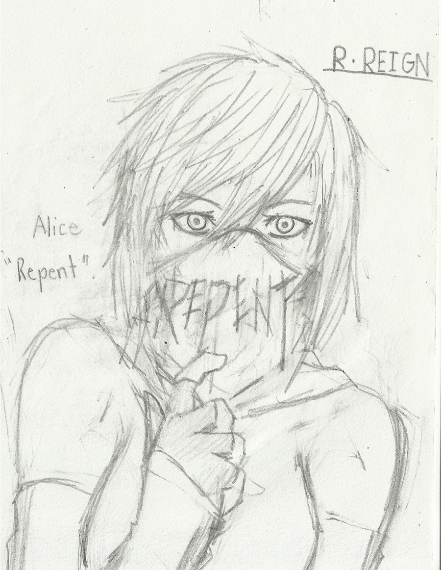 Alice: REPENT by Demon-Shinob1