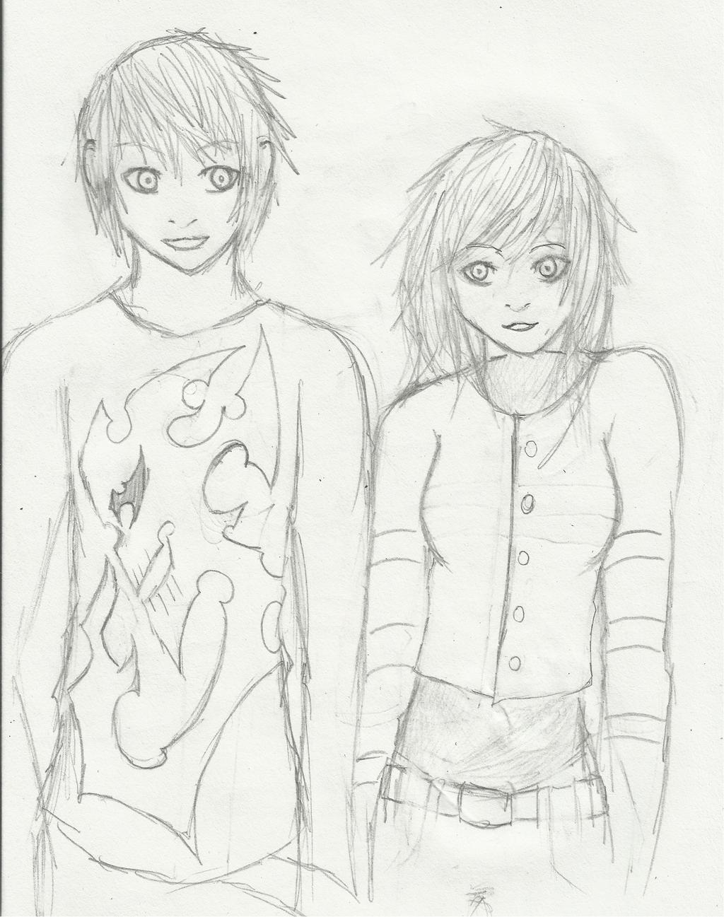 Random Pair by Demon-Shinob1