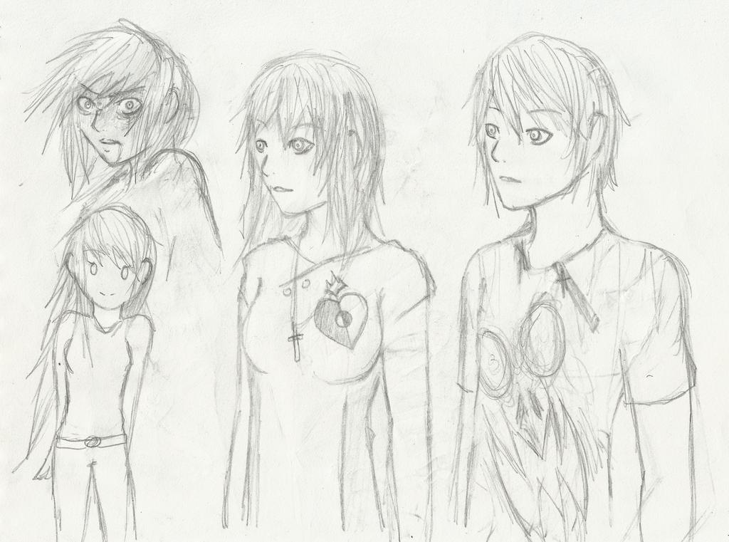 Random Sketches4 by Demon-Shinob1