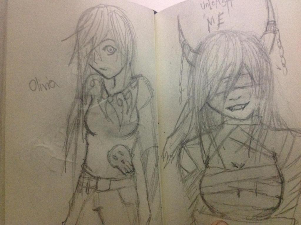 Small sketchbook 1 by Demon-Shinob1