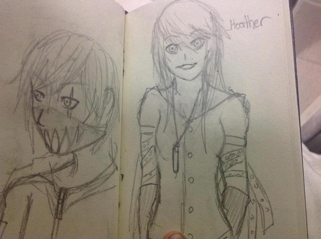 Small sketchbook 4 by Demon-Shinob1