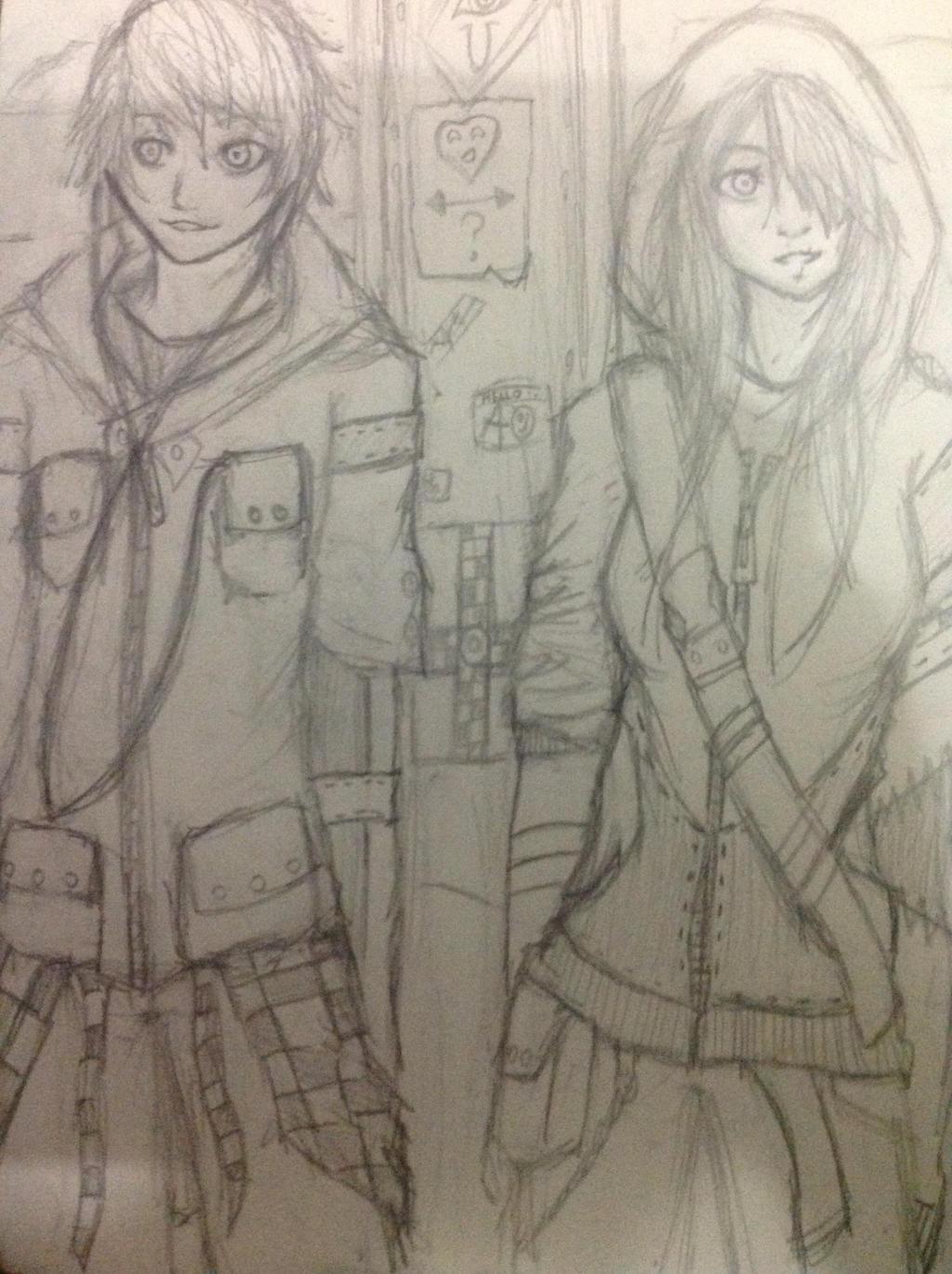Just standing here....chilling by Demon-Shinob1