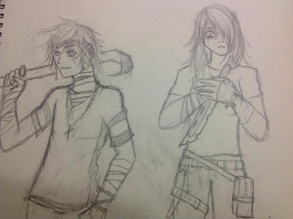 Random drawings by Demon-Shinob1