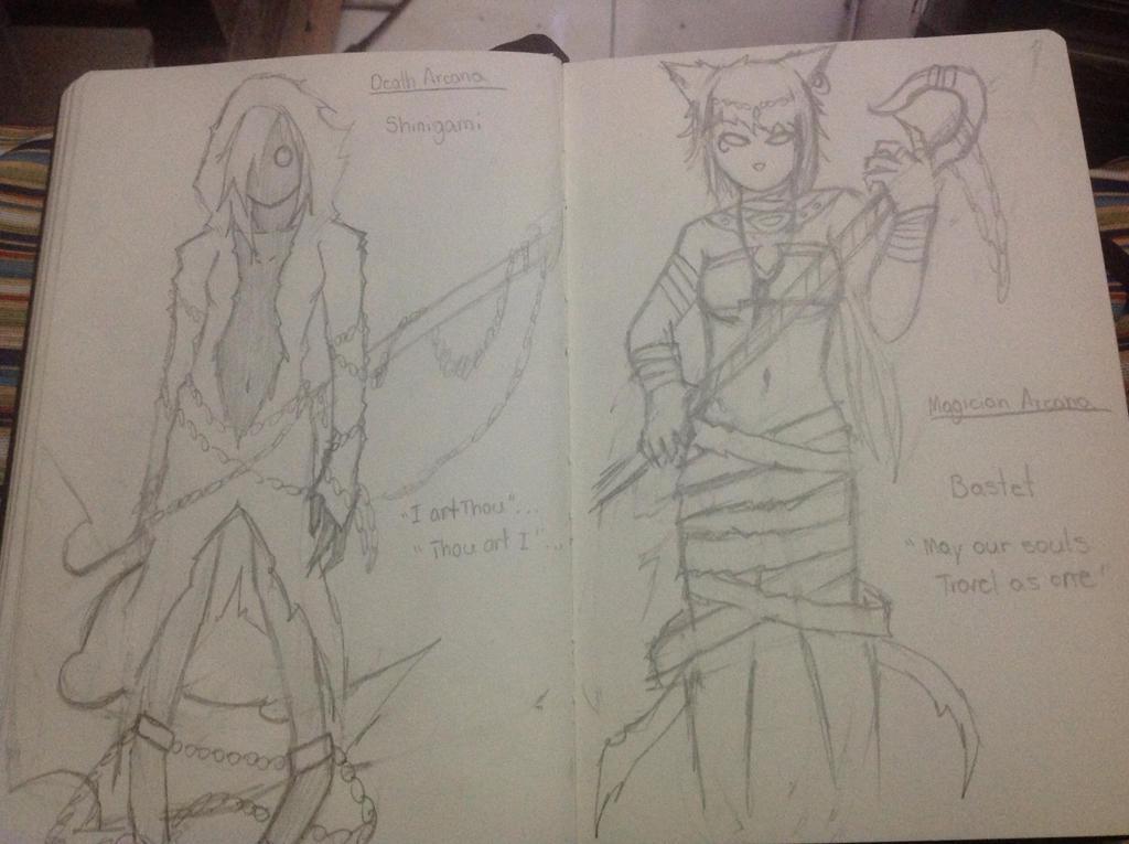 Persona ideas by Demon-Shinob1
