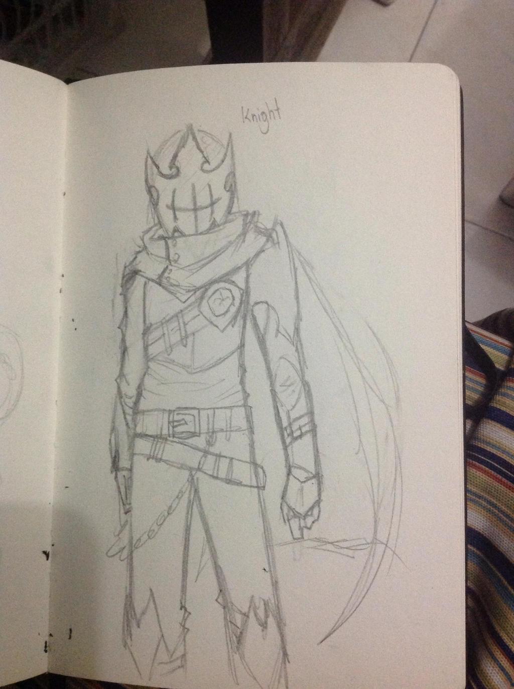 Story concept: Lone Knight by Demon-Shinob1