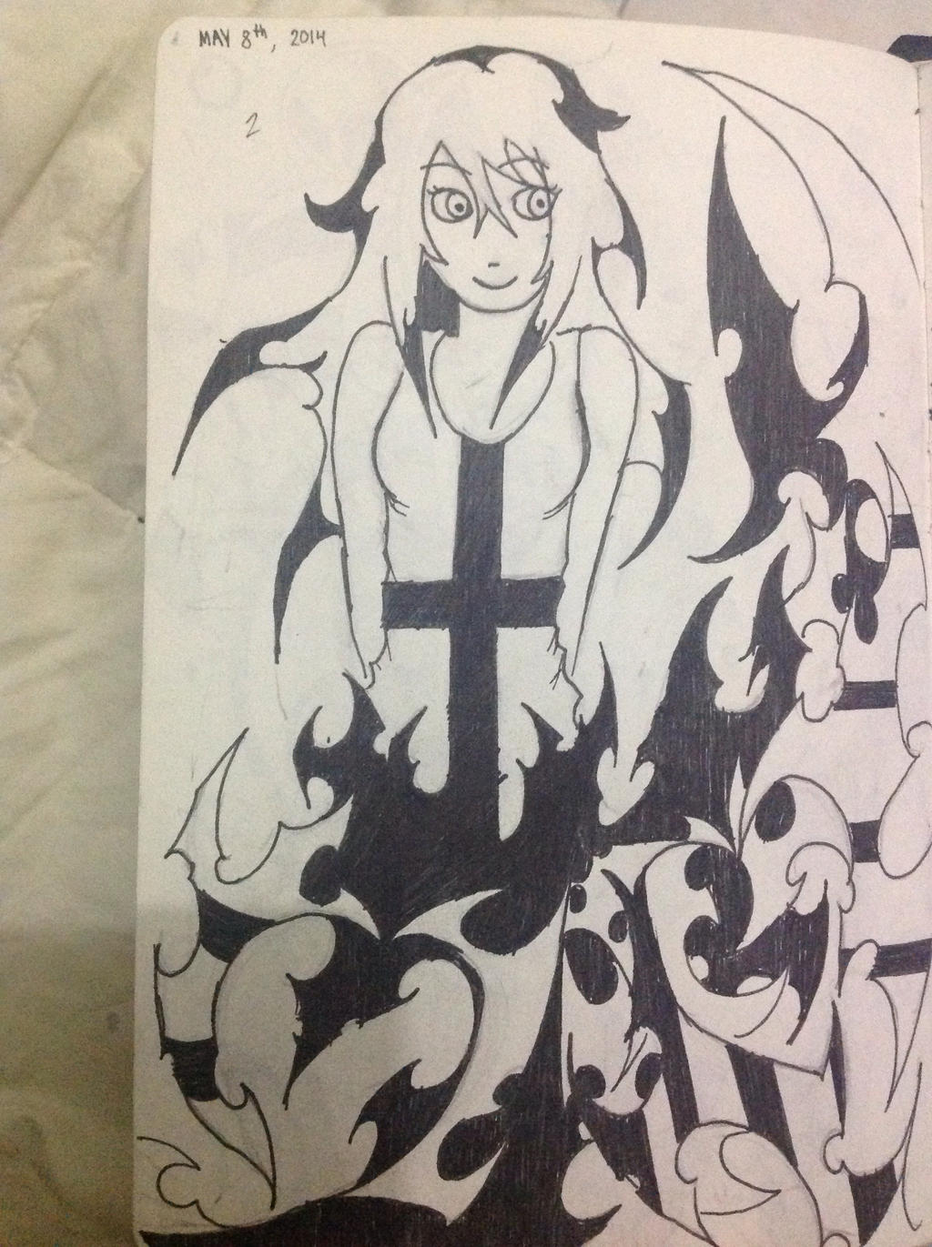 She's on fire by Demon-Shinob1
