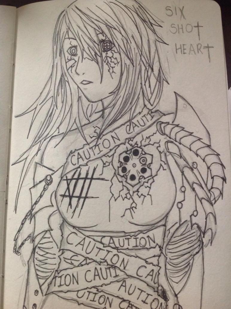 Six Shot Heart by Demon-Shinob1