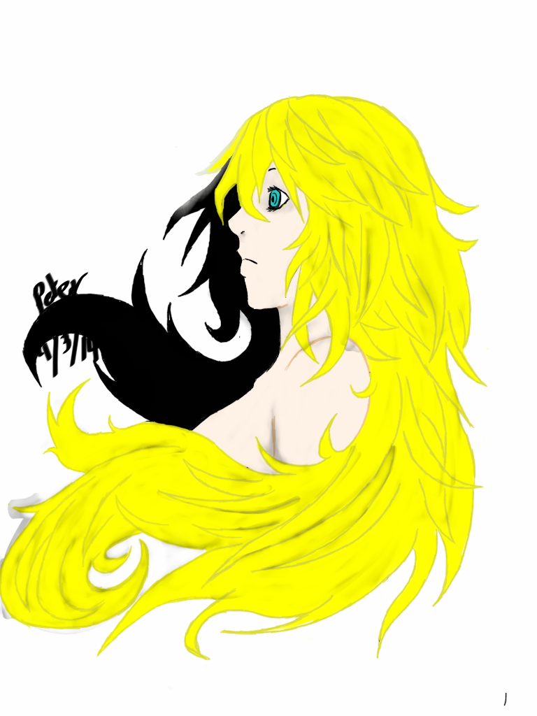 Harmonic: colored by Demon-Shinob1
