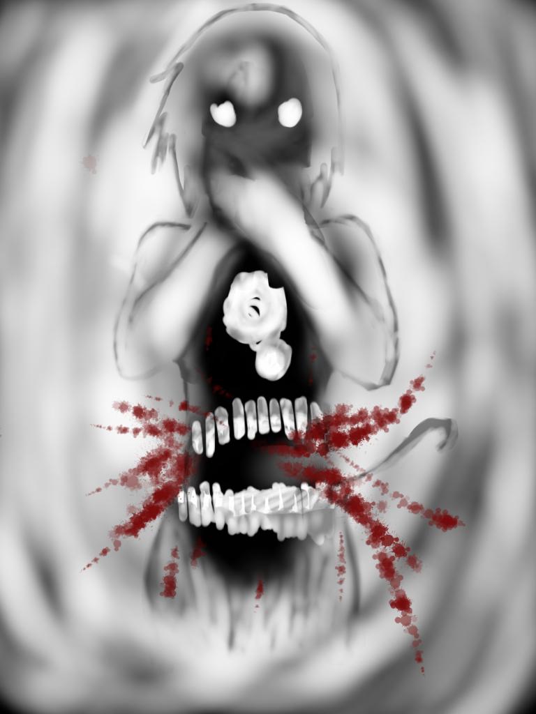 Nightmare Fuel: Bloody Shadows by Demon-Shinob1