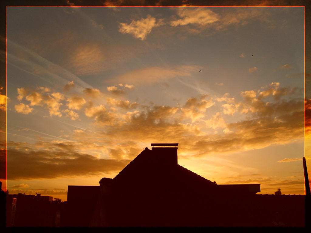 various clouds sundown by webcruiser