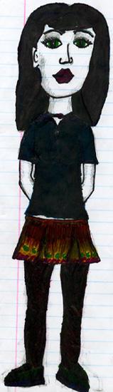 Green Eyed Schoolgirl