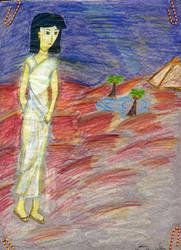 Egyptian Desert Lady