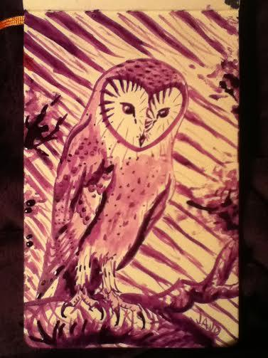 Purpleowl by MissSebright