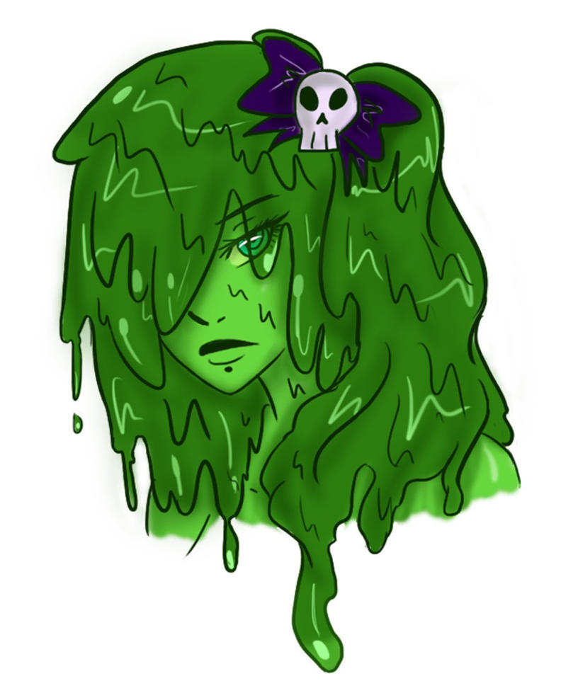 Slime Girl Head-Shot Adopt ~ ((CLOSED)) by Princess-Seraphim