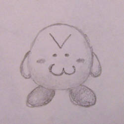 Jesus Christ it's a Kirby by Wolf-Pup-TK
