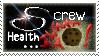 Stamp: Screw Health... by omgitsamy