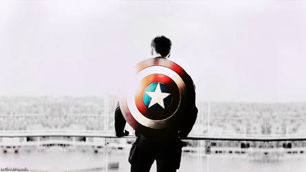 captain america by KatherinaRosalieRS
