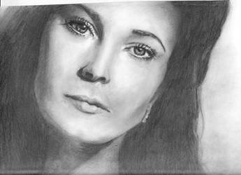 Vivien Leigh by KatherinaRosalieRS